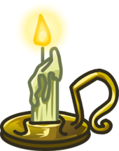 Creepy Candle icon