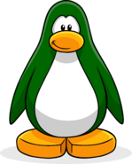 Dark Green Create Penguin