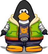 Puffle Style on a Player Card