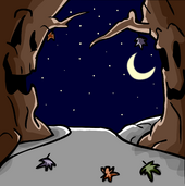 SpookyTreesBackground