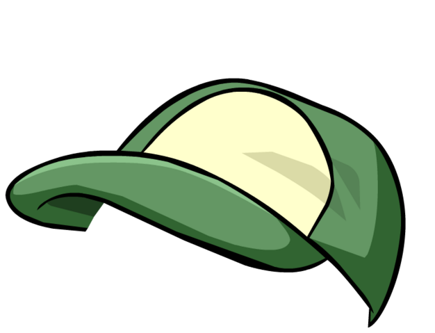 File:Green Baseball Cap4.png