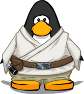 Luke Skywalker Robes on Player Card