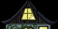 Creepy Cottage Cut-Out