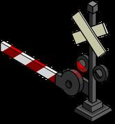 Railroad Crossing Sign sprite 002