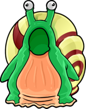 Snail Costume clothing icon ID 4135