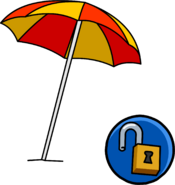 Beach Umbrella unlockable icon