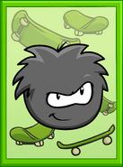 Black Puffle Poster sprite 002