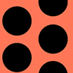 Fabric Polka Dots celeb icon