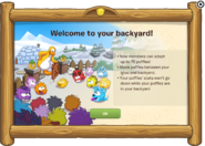 Puffle Backyard notice 2015