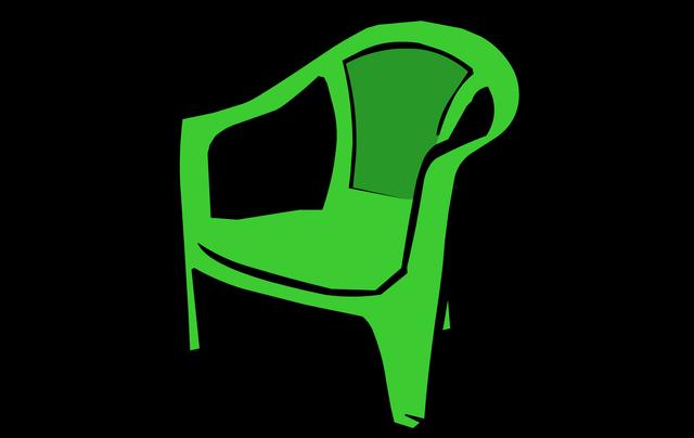 File:GreenPlasticChair2.png