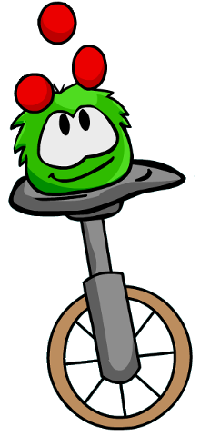 File:Puffle on unicycle.png