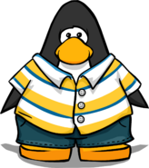 Sandy Shore Outfit from a Player Card