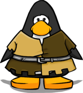 Squire Outfit on a Player Card