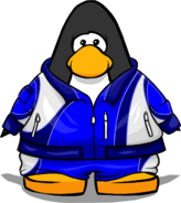 Blue Tracksuit from a Player Card