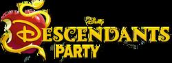 DisneyDescendantsPartyLogo