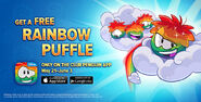 Rainbow Puffles free for everyone promo