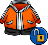 Orange Snowsuit unlockable icon