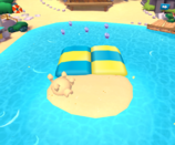 Coconut Cove water