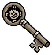 Rockhopper's Key Pin
