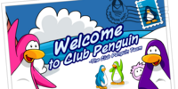 Welcome to Club Penguin postcard (ID 125)