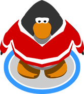 Red Hockey Jersey ingame