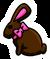 Chocolate Bunny Pin