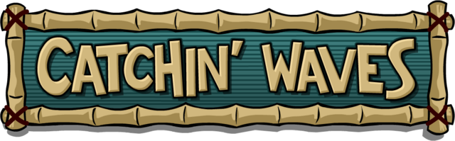 File:Old Catchin' Waves Logo.png