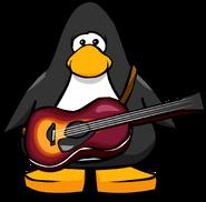 Acoustic Sunburst Guitar PC