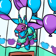 4th Year Party Hat Pinata