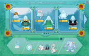 Frozen Fever Party 2015 interface page 1