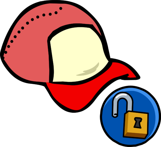 File:Red Ball Cap clothing icon ID 10435.png