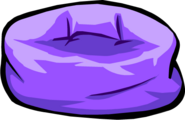 Purple Beanbag Chair