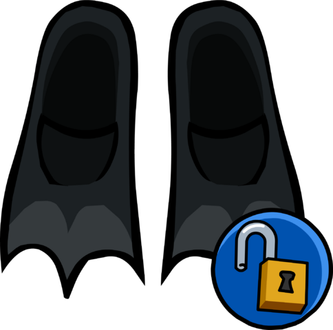File:Black Flippers clothing icon ID 16099.png