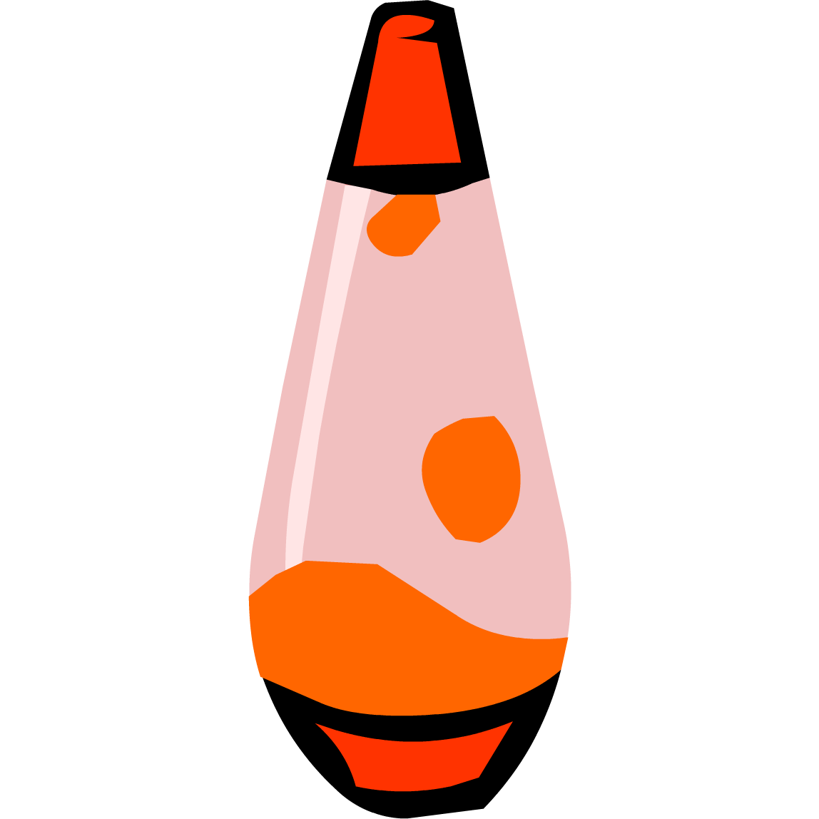 Lava lamp png - Red Lava Lamp Png
