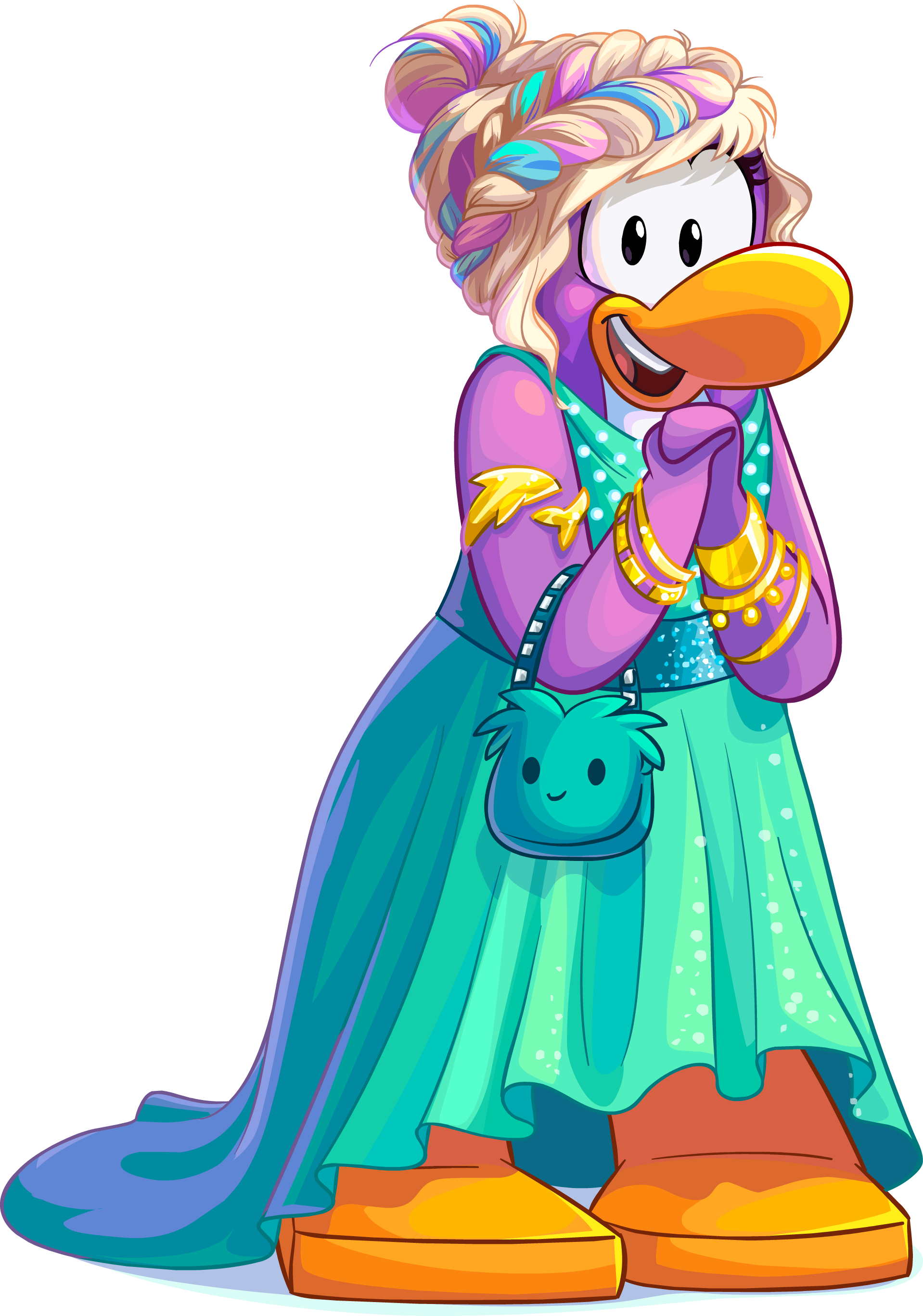 Club Penguin Fashion Festival August 2015 Dot