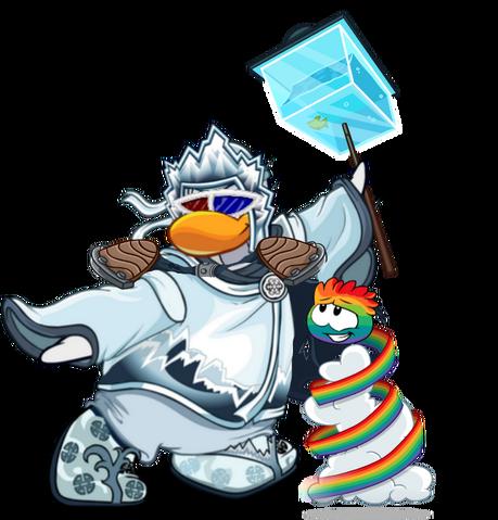 File:Tragiggles ninja custom with rainbow puffle.png