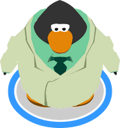 Beaker Costume in-game