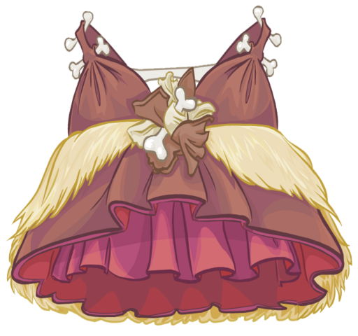 File:Prehistoric Gown clothing icon ID 4782.png
