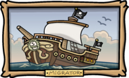 Captain's Quarters Migrator painting