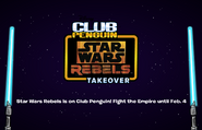 Club Penguin Loading Screen Star Wars Rebels Takeover