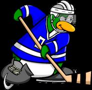 Ice Hockey postcard 1