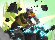 Zeb smashing