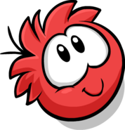 Red Puffle Cute