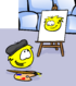YELLOW PUFFLE card image