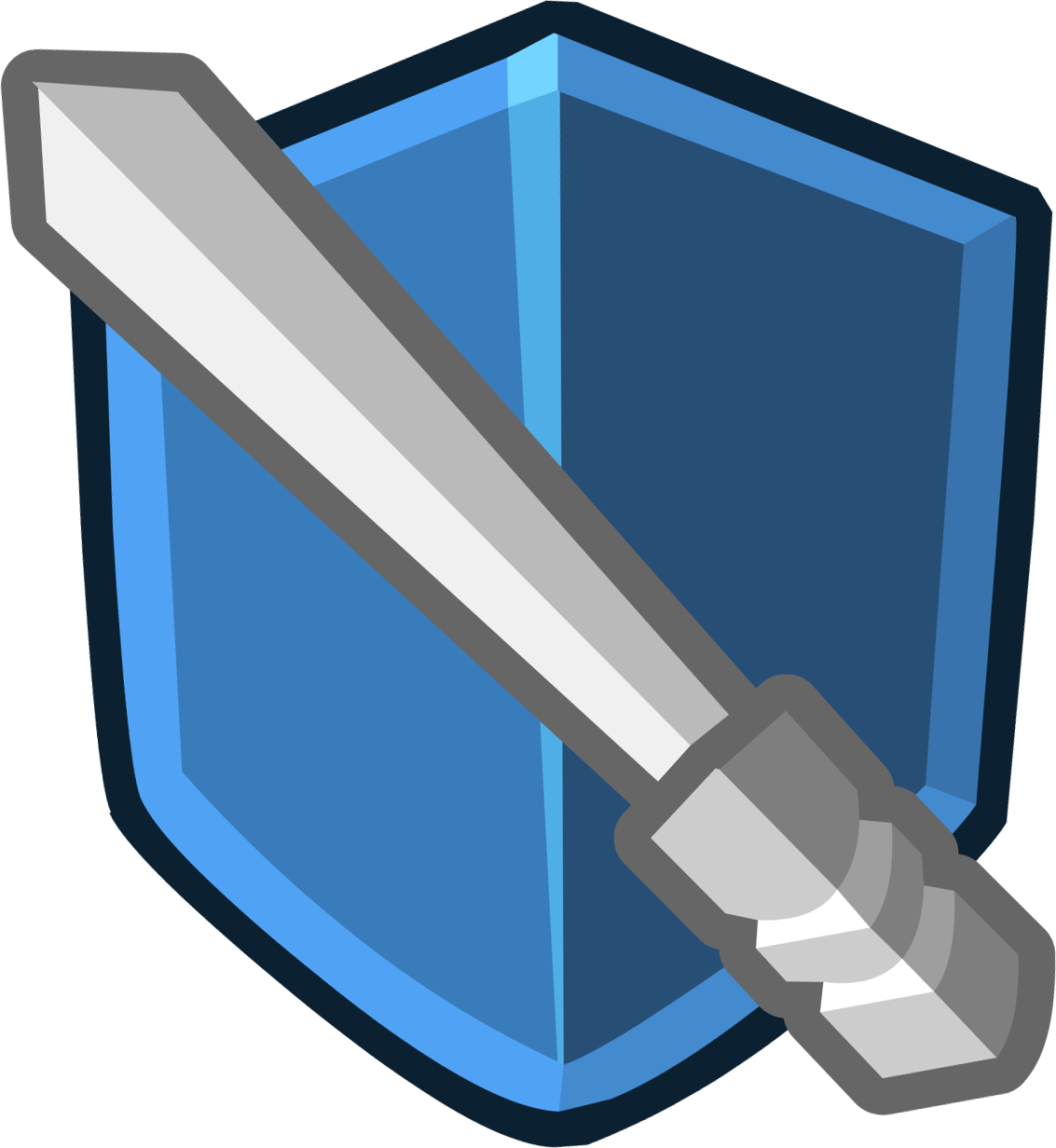 Image Medieval 2013 Emoticons Shield Png Club Penguin