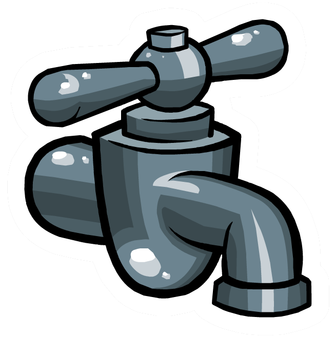 Pin de grifo de agua club penguin wiki fandom powered for Grifos ahorradores de agua