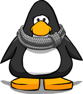 Infinity Scarf on a Player Card