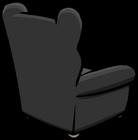 Plush Gray Chair sprite 006