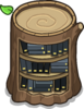 Stump Bookcase sprite 011