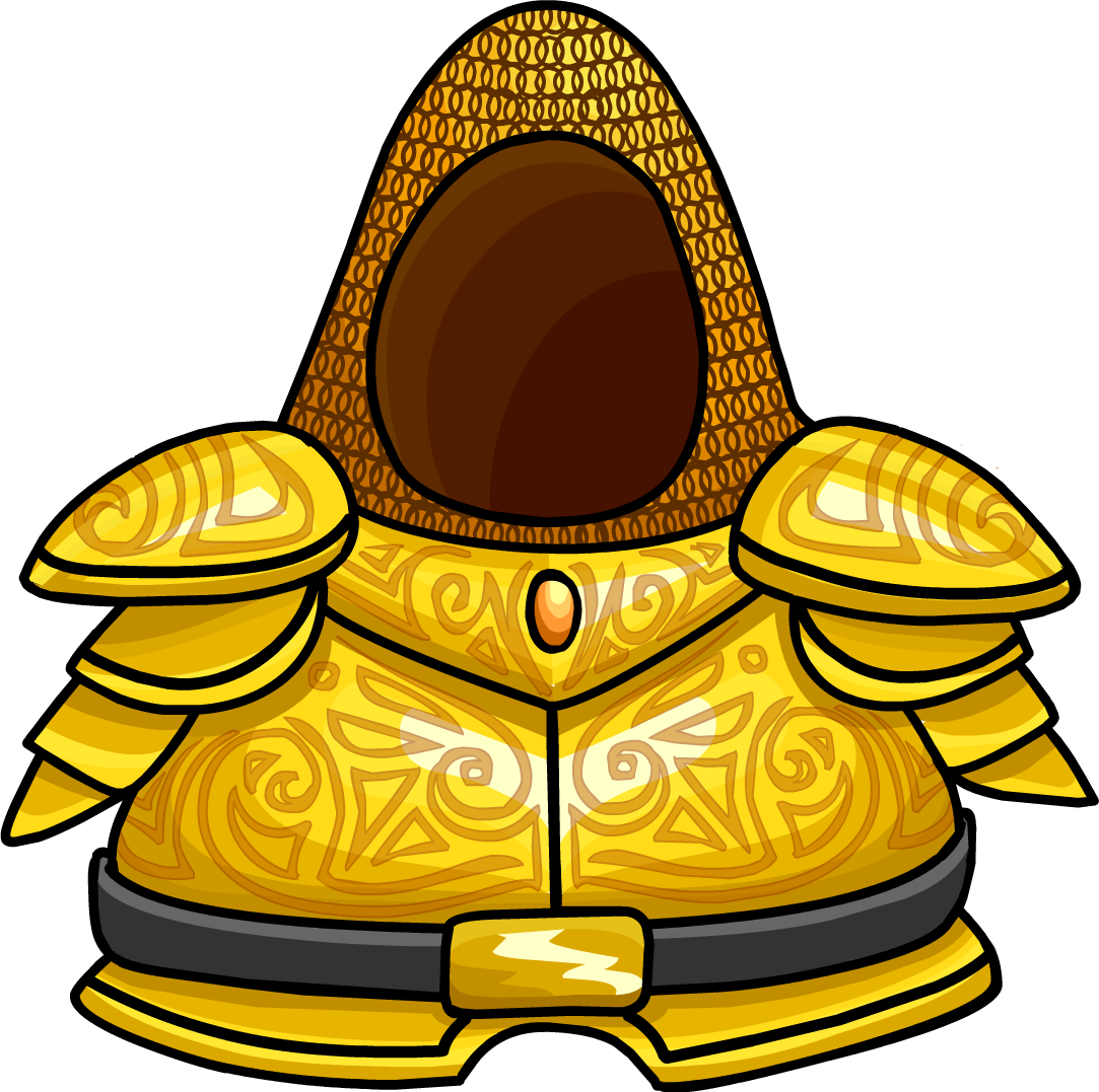 Golden Knight S Armor Club Penguin Wiki Fandom Powered